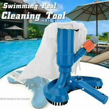 Swimming Pool & Spa Pond Fountain Vacuum Brush Cleaner Cleaning Tool Kit