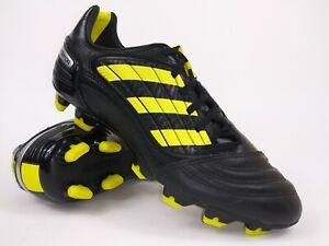 Adidas Mens Rare Predator Absolado X FG G14206 Black Soccer Cleats Size 7.5