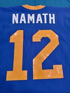 Mitchell Ness M&N Joe Namath Los Angeles Rams authentic Jersey 52 2XL RARE USA