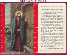 1198 SANTINO HOLY CARD  BENEDIZIONE DELLE CASE NB RE - 1216