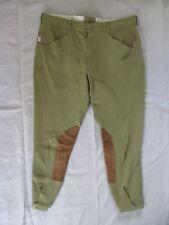 Tailored Sportsman tan horseback officer jodhpur patrol riding pants 40 38