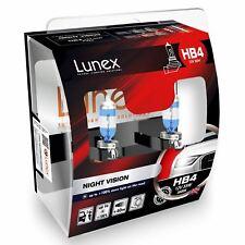 2x Lunex HB4 Night Vision Halógeno + 100% more light 3600K