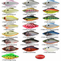 Rat-L-Trap Panfish Crappie Lipless Crankbait 1.75 Inch Tiny Pick Any Color TT