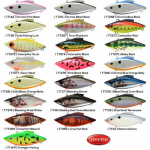 Rat-L-Trap Lipless Crankbait 1/8oz TINY Any 22 Color Crappie Panfish TT Lures