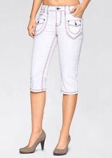 Markenlose Damen-Jeans aus Denim in Übergröße