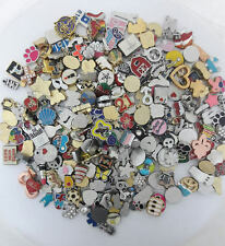 200 Mix Random Lot Wholesale Floating Charms for Glass Memory Locket