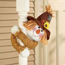 Niño Espantapájaros con Poses Brazos Halloween Porche Pasamano Hugger Greeter