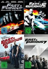 The Fast and the Furious 4 - 7 (Paul Walker)                     | DVD | 507