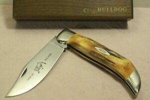 1960's~CASE XX 5172 STAG~BULLDOG WITH BOX~UNUSED & MINT~FOLDING HUNTING KNIFE~
