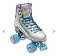 New listing Impala Holographic Quad Rollerskates, Size 8- new in box