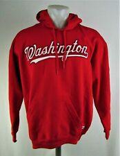 Washington Nationals MLB Stitches Men's Big & Tall Red Hoodie