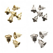 Liberty Bells For Christmas Crafts, 3 Sizes, Gold & Silver, Multi Buy, Free Post