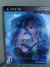 New listing Final Fantasy X/X-2 Hd Limited Edition Ps3, English Ntsc U/C, Factory Sealed