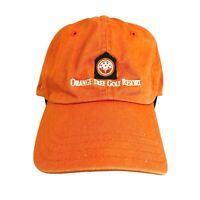 Orange Tree Golf Resort Scottsdale AZ Golf Golfer Tan Mens Strapback Hat Cap