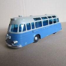 830 ATMA jouet ancien plastique Bus Banco Transatlantico del Uruguay