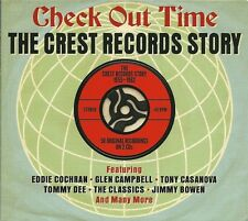 CHECK OUT TIME THE CREST RECORDS STORY 1955 - 1962 - 2 CD BOX SET