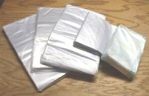 Pack of 50 SHRINK BAGS - MIX & MATCH SMALL SIZES - Pick Your Own Small Sizes