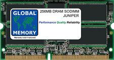 256mb DRAM SODIMM JUNIPER M7/M7i/ M10/M10i/M71 redirección MOTOR (mem-feb-256-s)