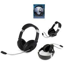 SAMSUNG SHS-100V/B Black Talking & Sound Stereo Headset Premium for PC/GENUINE