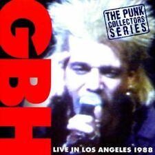 GBH - Live in Los Angeles CD NEU