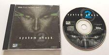 System Shock 2 II PC CD-ROM Jewel Case Edition Rare PAL