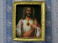 Dolls House Miniature 1/12th Scale Small Religious Picture MA64