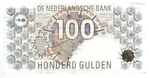 Banknote Niederlande / Netherlands - 100 Gulden - 1992 - sehr selten!!!
