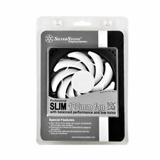 Silverstone SST-FN123 Slim 120mm x 120mm x 15mm Sleeve Bearing Case Fan, 3pin