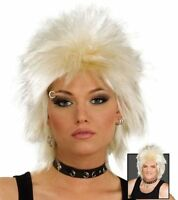 80'S ROCK IDOL. BLONDE (1970S , 1980S FANCY DRESS WIGS)