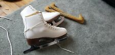 "Size 7.5 A Sp-Teri woman's figure skates with 10"" Mk Phantom Parabolic blades"