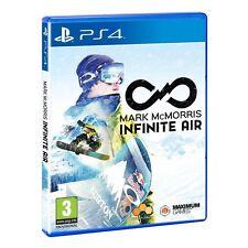 Mark McMorris Infinite Air PlayStation 4 Ps4 Release