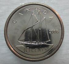 2008 CANADA 10¢ BRILLIANT UNCIRCULATED DIME