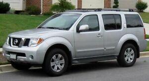 For Nissan Pathfinder 2005-2013 R51 Slimline Window Visors/Weathershields (4PCS)