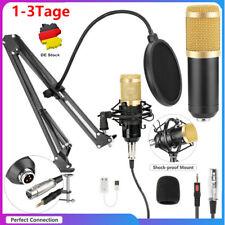 ST-800 USB Kondensator microphone Mikrofon Kit Komplett Set für Studio Aufnahme