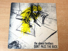 """EX/EX- !! The Almost Brothers/Don't Pass The Buck/1981 RatRace 7"""" Single/Punk"""