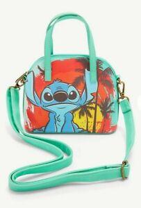 Loungefly Disney Lilo and Stitch Mini Dome Crossbody Bag Purse NEW