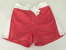 Island Company Men's Resort Short White with Coral - Retail $100