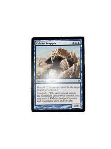 Calcite Snapper FOIL Worldwake PLD Blue Common MAGIC GATHERING CARD ABUGames