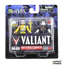 Valiant Minimates Armor Bond X-O Manowar & Harada Protocol Bloodshot