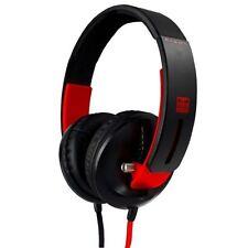 Écouteurs rouge audio et hi-fi