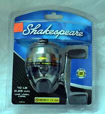 SHAKESPEARE SYNERGY TI10 TITANIUM SPINCAST REEL W/LINE (store#bte18)
