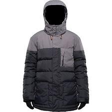 DEAL! Billabong Bound Winter Snowboard Ski Down Feather Jacket MEDIUM M BLACK