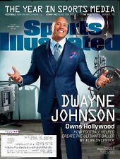 """Sports Illustrated 12/5/2016 """"The Year In Sports Media"""" -DWAYNE JOHNSON"""
