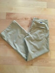 Patagonia Roll Tab Lightweight Hiking/Camp Khaki Pants Women's Size 0