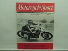 Sept 1974 Motorcycle Sport Magazine Kawasaki Yamaha Morini 350 Vee Twin B246