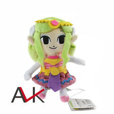 "Legend of Zelda Wind Waker PRINCESS ZELDA 8"" Stuffed Plush Toy Hot"