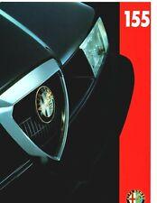 Alfa Romeo 155 T.Spark 1.8 2.0 V6 BTCC 8 Page Brochure English Language 1995