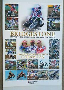 Vintage Poster 2006 Motocross Nations James Stewart Ivan Tedesco Pourcel Townley