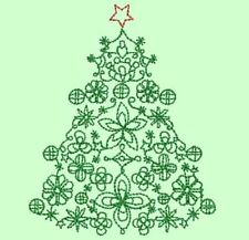 CHRISTMAS TREES - 20 MACHINE EMBROIDERY DESIGNS