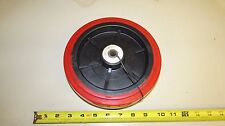 "8 x 2 Caster Wheel Polyurethane 1/2"" Roller Bearing"